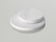 Groove trivets by Muuto