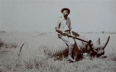 Richard John Cuninghame  taken during a safari in East Africa, c1908