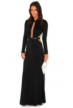 I love this dress. . .red carpet or a night time wedding. . .