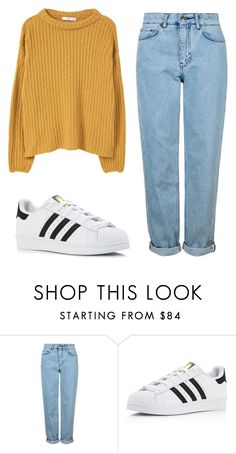 """Untitled #459"" by annelisethehipsterfangirl ❤ liked on Polyvore featuring Topshop, adidas and MANGO"