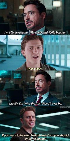 Avengers Humor, Marvel Jokes, Funny Marvel Memes, Dc Memes, Marvel Dc Comics, Marvel Heroes, Marvel Avengers, Loki Funny, Marvel Kids