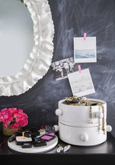 a bedroom vanity done right