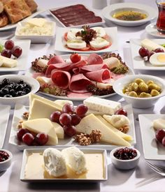 It wouldn't be a Turkish breakfast without at LEAST 4 different types of cheese!