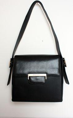 Yves Saint Laurent Black Shoulder Bag