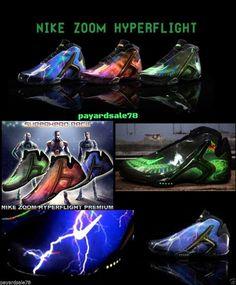 Details about MEN\u0026#39;S NIKE ZOOM HYPERFLIGHT PRM SUPER HERO LEBRON KD KOBE KEVIN DURANT SNEAKERS
