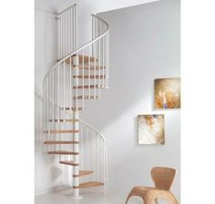 Kit Spiral Staircases | Oak 70 Spiral Staircase