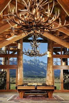 A log cabin is a house built from logs. It is a fairly simple type of log house. Log Home Living, Log Home Decorating, Interior Decorating, Log Cabin Homes, Log Cabins, Rustic Cabins, Mountain Cabins, Mountain View, Home On The Range