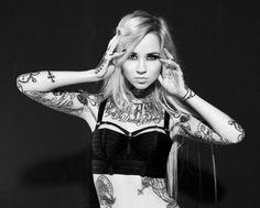 Tattoed Beauty Sara Fabel – Fonda LaShay // Design