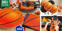 Score points with off Basketball party tableware! Shop for Basketball Party Supplies, basketball decorations, favours, invitations and more NBA party supplies. Basketball Party, Basketball Birthday, Sports Birthday, Baby Boy Birthday, Sports Party, Basketball Cakes, 10th Birthday, Birthday Ideas, Wallpaper Luxury
