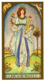 July 2 Tarot Card: The High Priestess (Renaissance deck) Listen to the wisdom of your own voice now -- not with your ears, but with your heart
