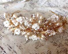 Vintage Wedding Hair Accessories wedding flower hair piece