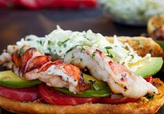 Southwest Lobster Roll