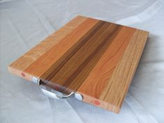 Cutting Board - Kitchen Prep Board Larger In Size, Mixed Solid Wood Board With…