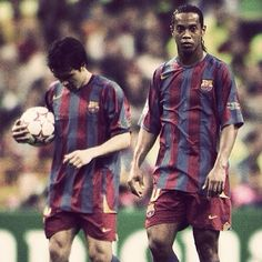 Favorite FC Barcelona squad Ronaldinho and Deco