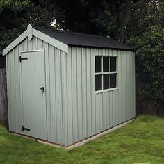 Garden Sheds John Lewis green garden shed this large garden shed was perfect for our