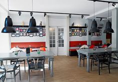 Stylish boutique Copenhagen hotel with hip interiors and a trio of restaurants - includes breakfast and spa access