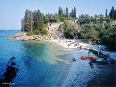 Levrechio Beach, Loggos, Paxos