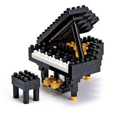Recommended age: 3 years and up. Nanoblock NBC_017 Grand Piano. This cheap Toys is below 10 dollars.