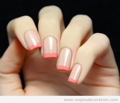 Pink & Nude french mani !