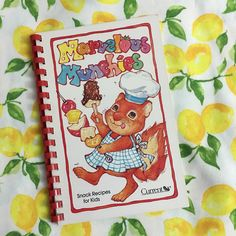 Marvelous Munchies, Vintage 1980s Children's Cookbook, Vintage Illustrated Cookbook by WorkerBeeBazaar on Etsy https://www.etsy.com/listing/494893416/marvelous-munchies-vintage-1980s