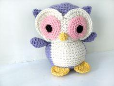 Ravelry: Amigurumi Nelson the Owl pattern by Stacey Trock Crochet Owls, Crochet Bebe, Crochet Patterns Amigurumi, Free Crochet, Owl Pet, Owl Crafts, Owl Patterns, Crochet Projects, Crochet Ideas