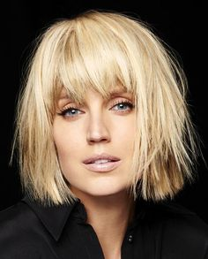 Franck Provost Medium Blonde Hairstyles