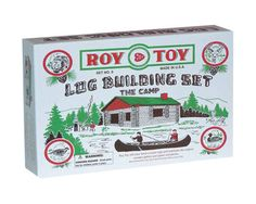 Roy Toy Log Cabin in a Box (37 pieces) $12.00 #MadeinUSA #toys http://www.unionlabel.com/roy-toy-log-cabin-in-a-box-37-piec37.html via BuyDirectUSA.com
