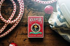 Red Keeper Playing Cards by Ellusionist
