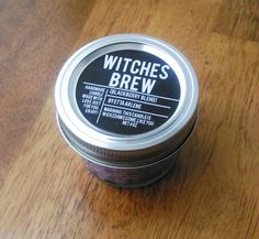 Witches Brew Halloween Candle Fall Candle Halloween by EttaArlene