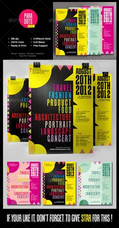 Annual Exhibition Flyer Print Template