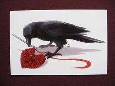 Postcard Print Crowchet