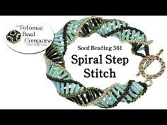 ▶ Make Spiral Step Jewelry (Necklace or Bracelet) - YouTube free tutorial from The Potomac Bead Company www.potomacbeads.com Buy Online: www.thebeadco.com