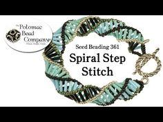 Make Spiral Step Jewelry (Necklace or Bracelet) - YouTube
