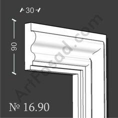 Cornice Moulding, Cornice Design, Window Cornices, House Outside Design, Plafond Design, Detailed Drawings, Door Design, Sliding Doors, Decoration