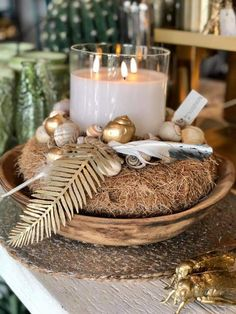 Oyster Shell Crafts, Centre Pieces, My New Room, Oysters, Diana, Diy And Crafts, Room Decor, Table Decorations, Winter