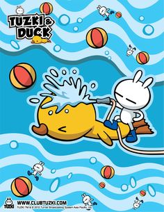 Tuzki & Duck: Design #2