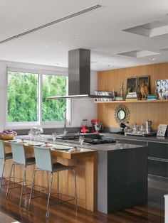 Cozinhas Modernas!!! Mais que Inspiradoras!