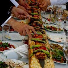 Turkish food, sis kebap