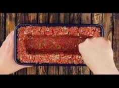 pastel de carne juega en una liga completamente diferente, y esto solo llena - Kochen & Backen - Meatloaf Recipes, Meat Recipes, Low Carb Recipes, Chicken Recipes, Cooking Recipes, Easy Healthy Breakfast, Food Porn, Easy Meals, Food And Drink