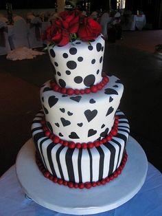 Rockabilly Wedding Cake Taartenateljee Wedding Cakes - Rockabilly birthday cake