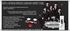 Kami membuka pendaftaran untuk kursus bahasa Korea murah di Jakarta. Kelas Reguler level ELEMENTARY 1. Pendaftaran khusus jadwal WEEKEND, setiap hari Sabtu pukul 12.00-15.00, mulai belajarnya silahkan langsung cek http://namsankoreancourse.com/detail-harga-dan-jadwal-kelas-reguler-namsan-course/