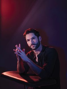 Tom Ellis as Lucifer Cinema Art, Tom Ellis Lucifer, Morning Star, Series Movies, Netflix Series, Paranormal, Robert Downey Jr, Celebrity Crush, Steven Universe