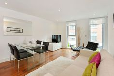 St James Serviced Apartments, Westminster, Living Area