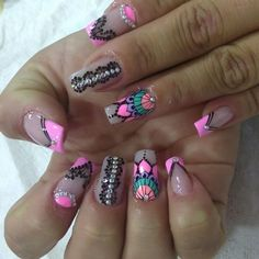 Jewelry Making Tutorials, Gorgeous Nails, Nail Arts, Beauty Nails, Coffin Nails, Nail Colors, My Nails, Manicure, Nail Designs