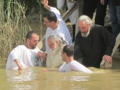 Journey of a Lifetime: Baptism in the Holy Land - Jordan River baptism site.