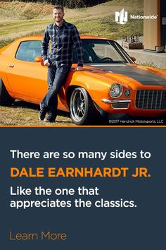 You know what's best for your classic car under the hood – but what about the best classic car insurance? Nationwide has you covered with collector car insurance designed for the unique needs of classic car collectors. Learn more at Nationwide.com/classiccar.