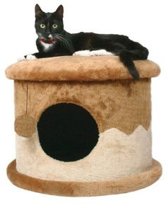 TRIXIE Pet Products Cozy Cat Cave BrownBeige * Check this awesome product by going to the link at the image.