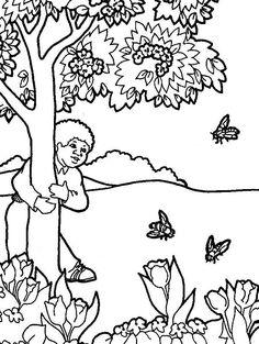 Planse de colorat Copaci de colorat p08 | Desene de colorat Copaci de colorat p08 Winnie The Pooh, Education, Home Decor, Decoration Home, Winnie The Pooh Ears, Room Decor, Onderwijs, Home Interior Design, Learning