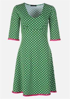 fe5ca2d41b71 Køb Mania kjole Stella dot green pink online hos DenckerDeluxe