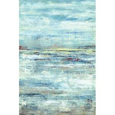 Found it at Wayfair - Lakeside Clouds by D. Davis Painting Print on Wrapped Canvas